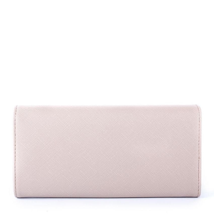 Satin Textured Wallet - Grey